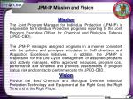 jpm ip mission and vision
