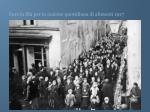 fare la fila per la razione quotidiana di alimenti 1917