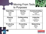 moving from tools to purposes5