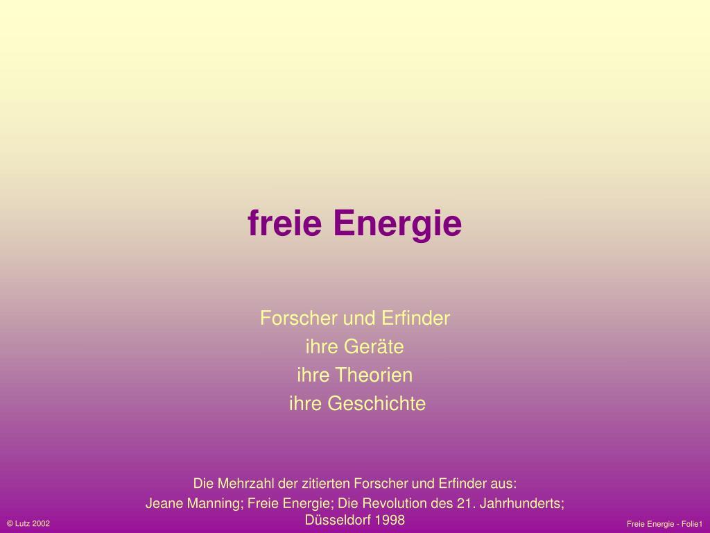 freie energie l.