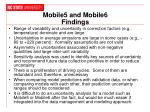 mobile5 and mobile6 findings