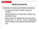 model uncertainty1