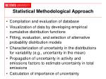 statistical methodological approach