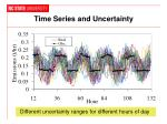time series and uncertainty