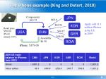 the iphone example xing and detert 2010