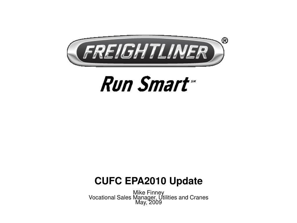 cufc epa2010 update l.
