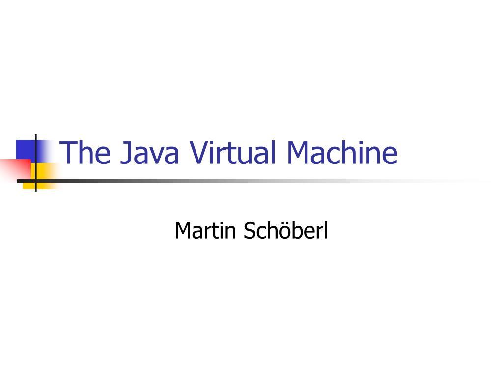 the java virtual machine l.