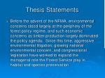 thesis statements23