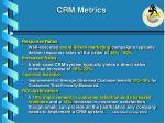 crm metrics
