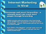 internet marketing is viral