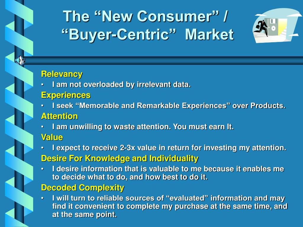 """The """"New Consumer"""" /"""