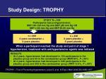 study design trophy