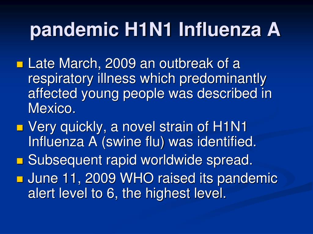 influenza pandemic 2009 essay Influenza pandemic 2009 essay the h1n1 influenza pandemic of 2009 is a simple reminder of how unpredictable the nature of the influenza virus really is.