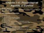 chapter 1 4 psychological aspects of survival
