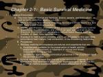 chapter 2 1 basic survival medicine65