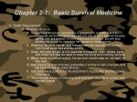 chapter 2 1 basic survival medicine66