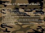 chapter 2 1 basic survival medicine68