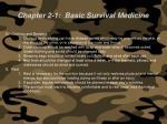 chapter 2 1 basic survival medicine69