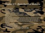 chapter 2 1 basic survival medicine70