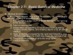 chapter 2 1 basic survival medicine71