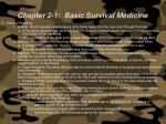 chapter 2 1 basic survival medicine73