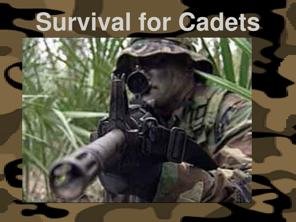 survival for cadets l.