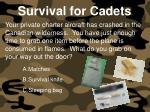 survival for cadets150