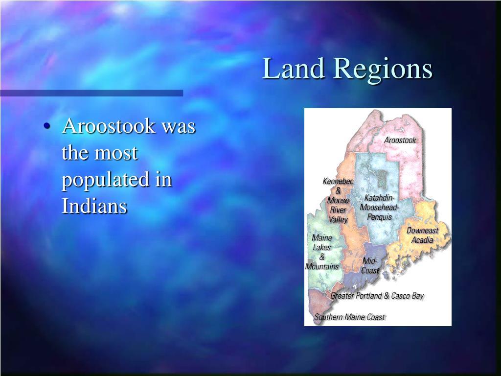 Land Regions