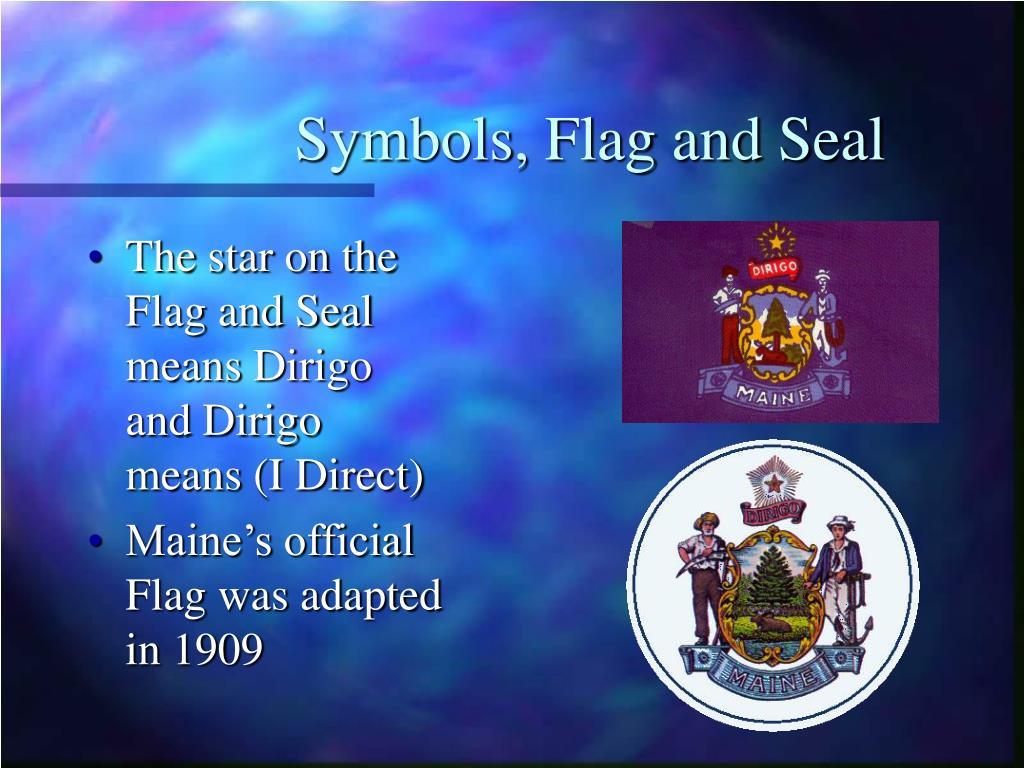 Symbols, Flag and Seal