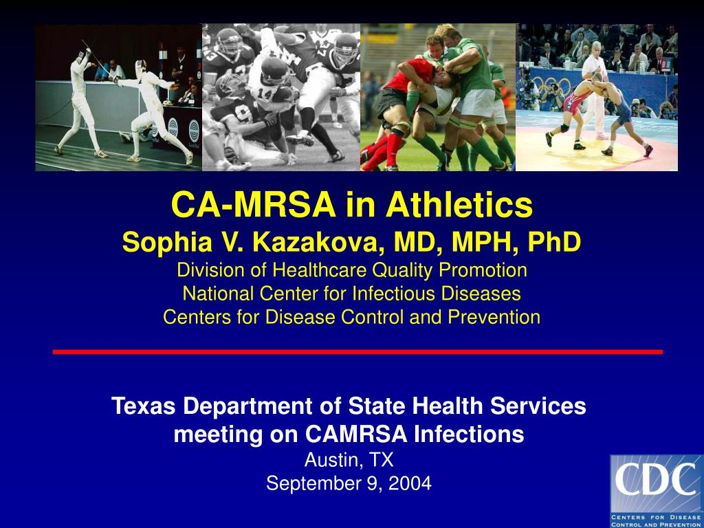 texas department of state health services meeting on camrsa infections austin tx september 9 2004 l.