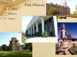 fisk history
