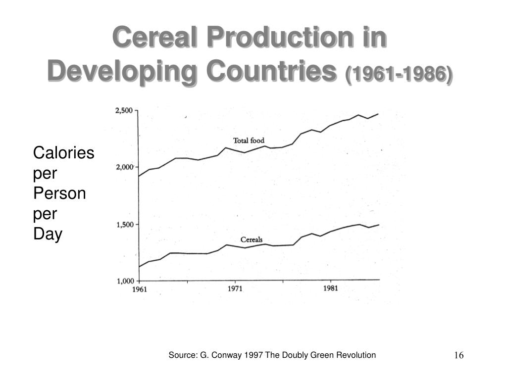 Cereal Production in