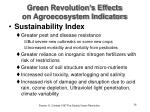 green revolution s effects on agroecosystem indicators28