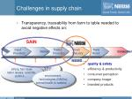 challenges in supply chain