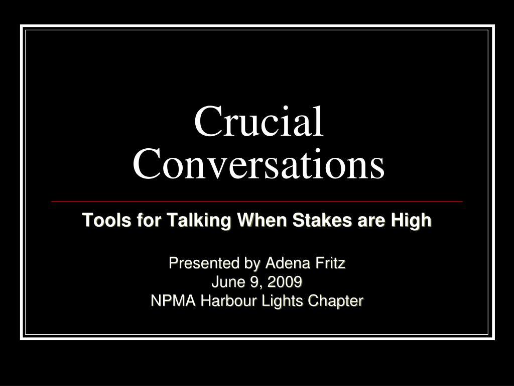 crucial conversations l.