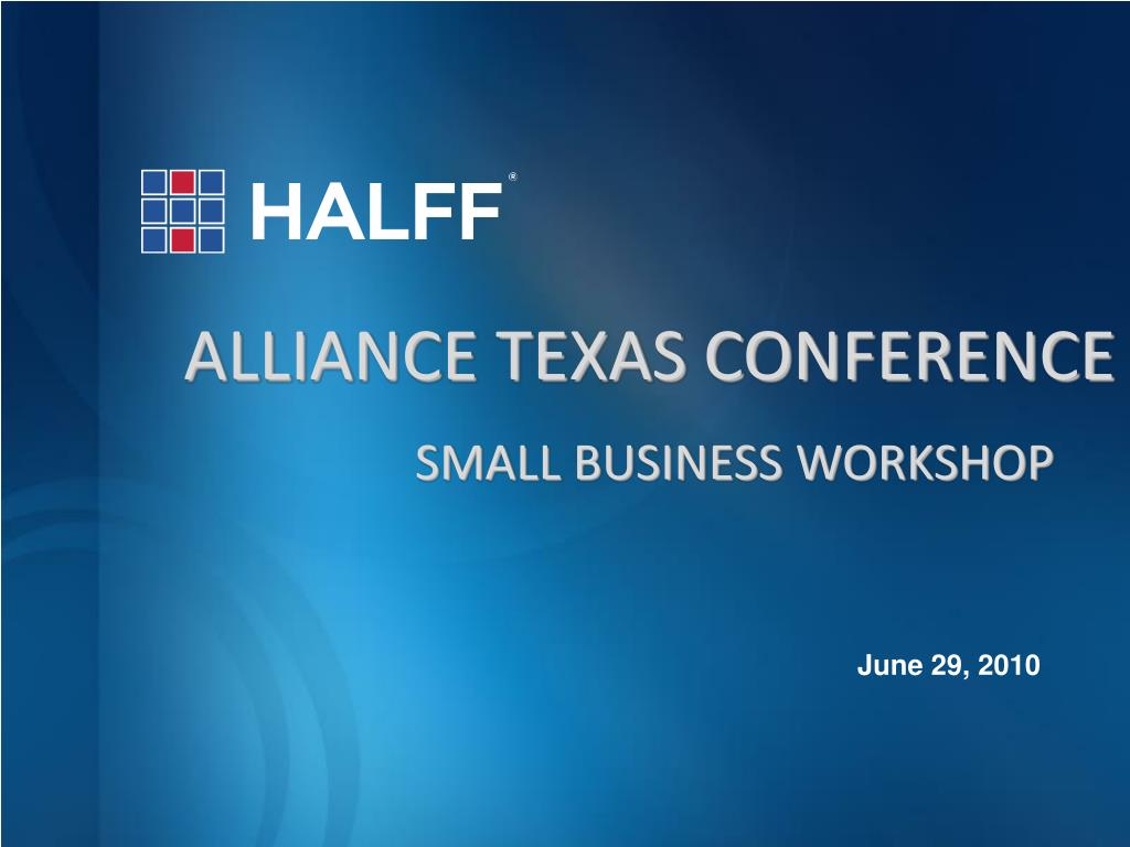 alliance texas conference l.