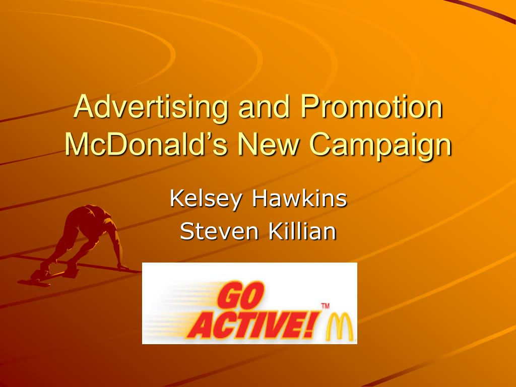 advertising and promotion mcdonald s new campaign l.