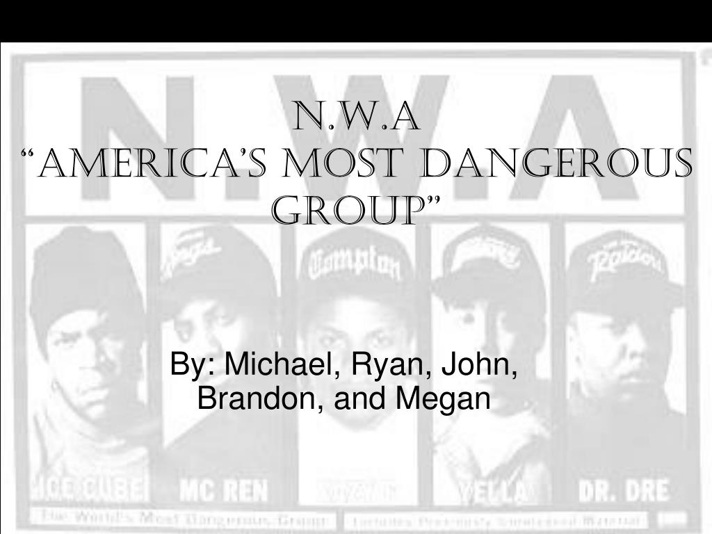 n w a america s most dangerous group l.
