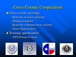 cross county cooperation