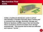 merchandise flow asrs