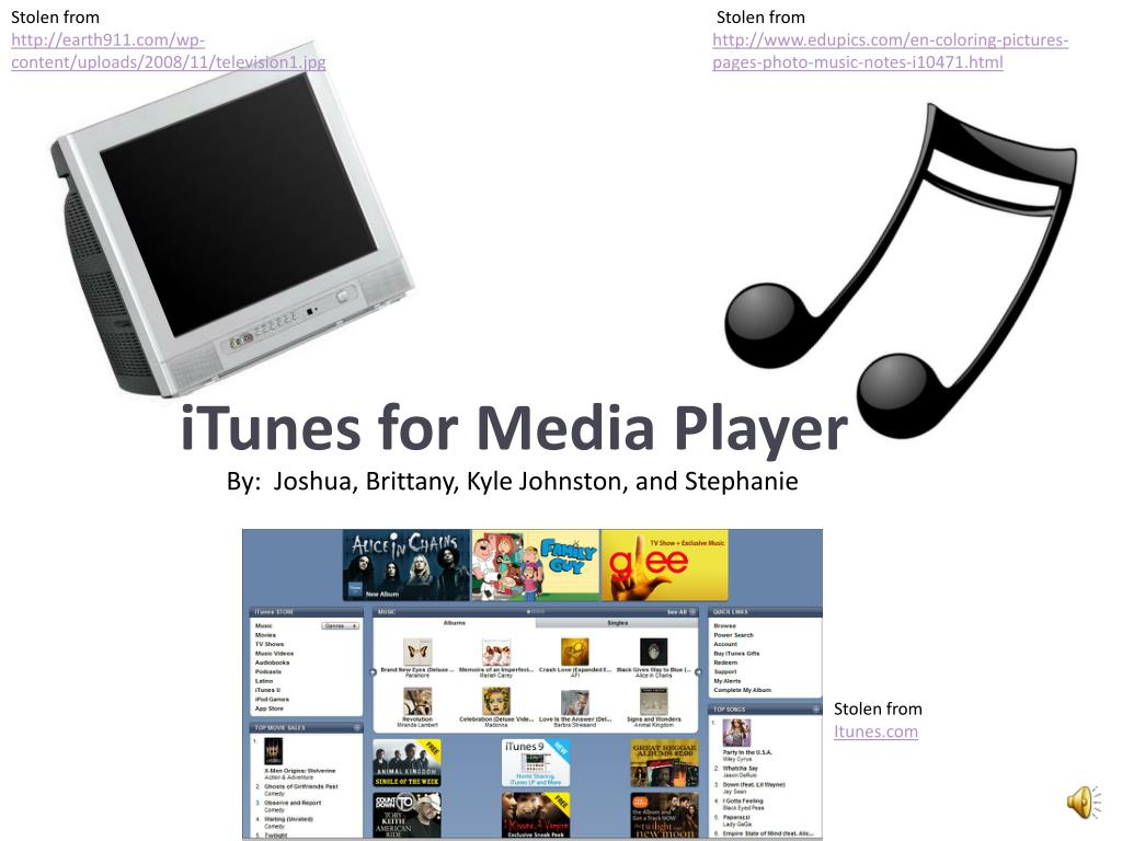 itunes for media player l.