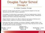 douglas taylor school chicago il