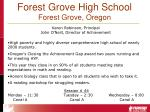 forest grove high school forest grove oregon