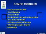 fomfis modules