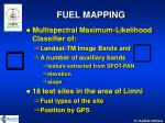 fuel mapping