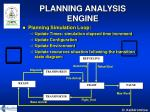 planning analysis engine26