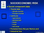 socioeconomic risk10
