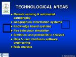 technological areas