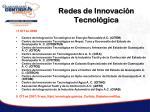 redes de innovaci n tecnol gica