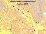 web tabanl orman bilgi sisteminin orb s